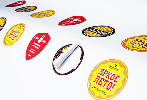 In sticker giá rẻ, đẹp, theo yêu cầu, tại HCM