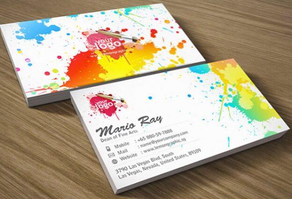 Thiết kế danh thiếp, name card, card visit giá rẻ HCM