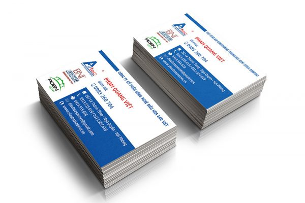In card visit, name card, danh thiếp giá rẻ Quận 8 HCM