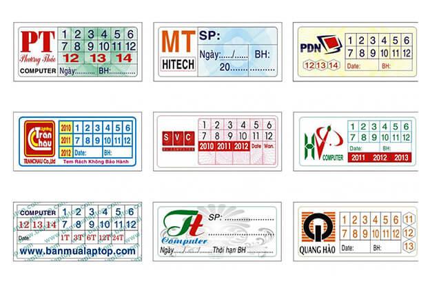 In tem bảo hành, tem bể giá rẻ tại HCM
